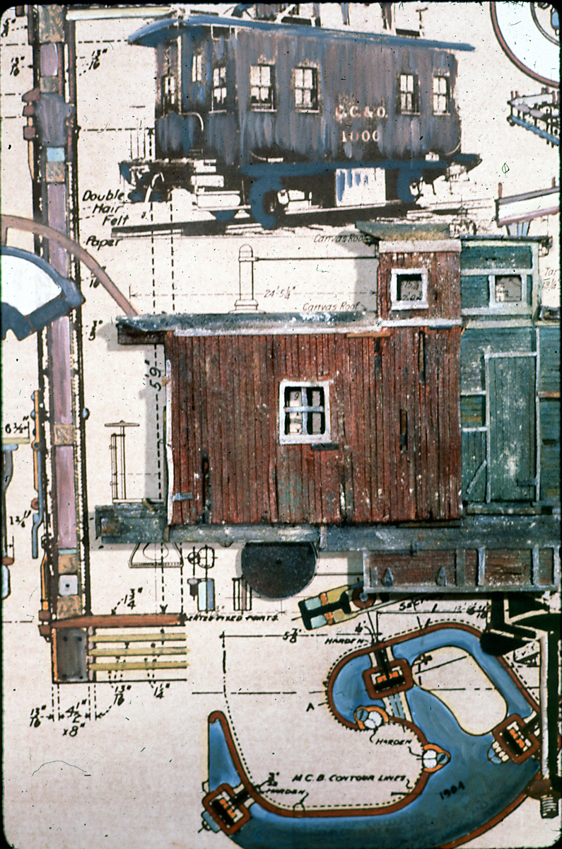 Caboose Blueprint: C, C + O